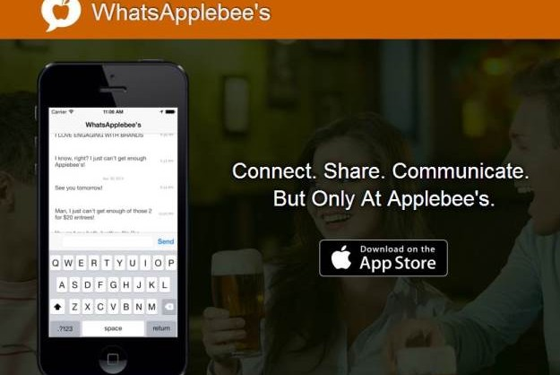 WhatsApplebees – Ortsbezogenes Netzwerk für Applebees Kunden